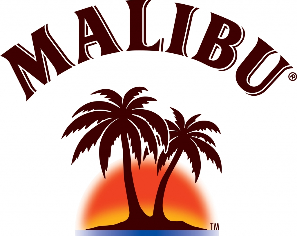 Malibu Logo / Alcohol / Logo.