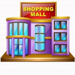 Shopping Mall Building Clipart.