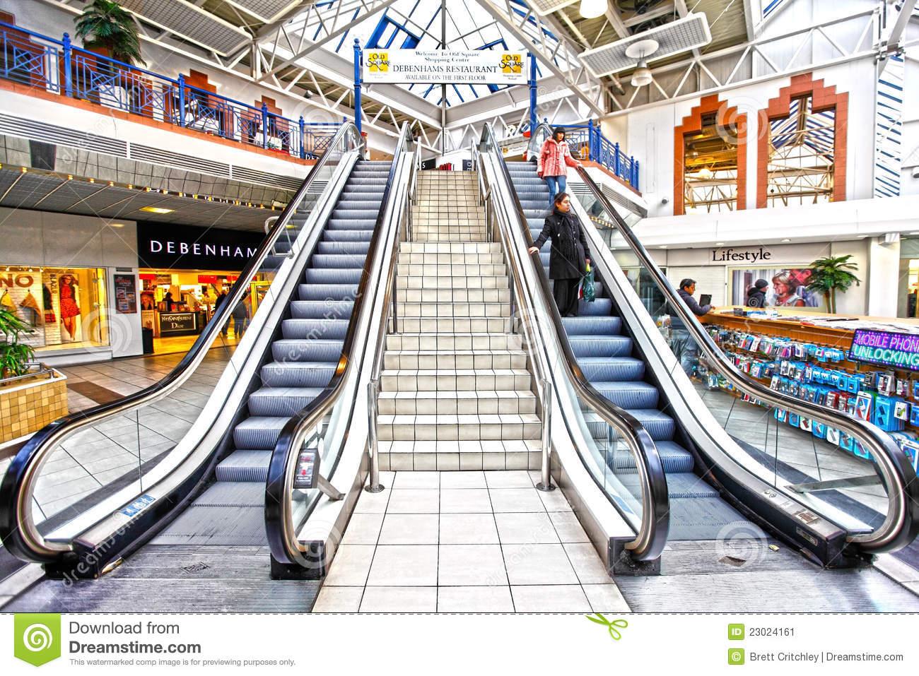 Shopping Mall Clip Art.