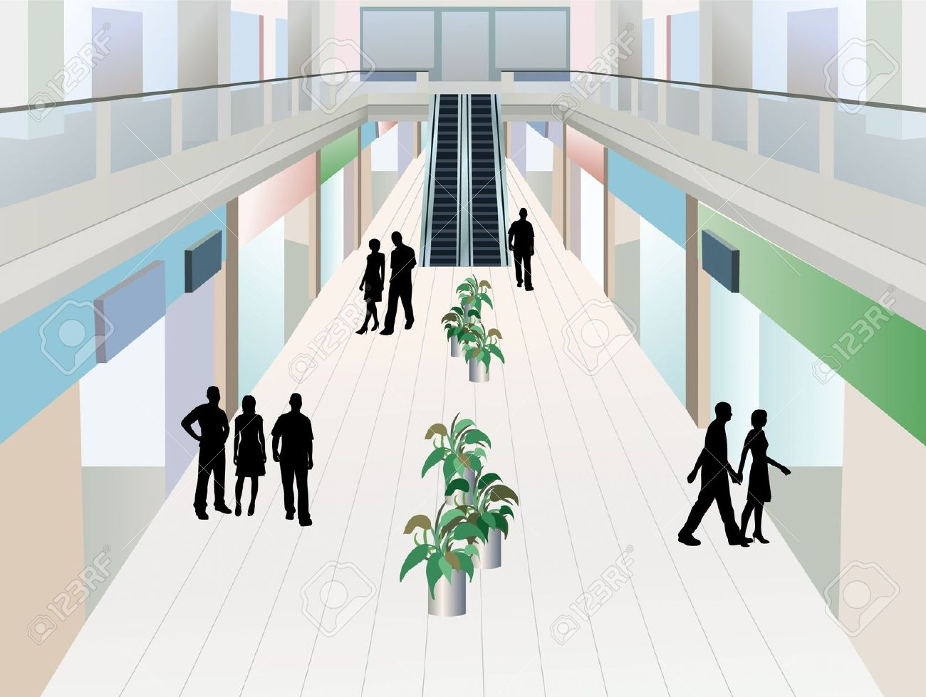 Mall Hallway Clipart 20 Free Cliparts Download Images On