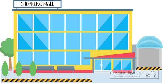 Clipart Of Mall.