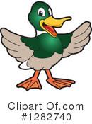 Mallard Duck Clipart #1.