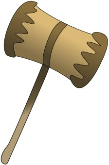 Free mallet Clipart.
