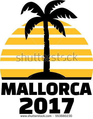Mallorca Map Stock Photos, Royalty.