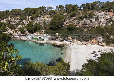 "Stock Images of ""The bay of Cala Pi, South Coast, Mallorca."