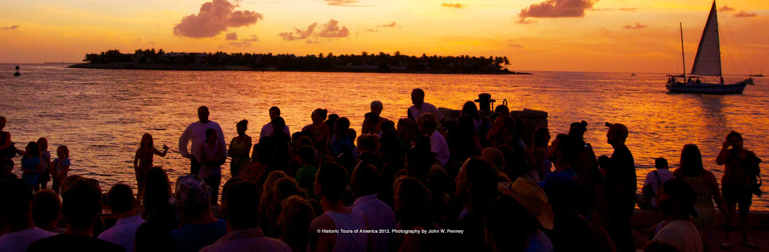 Discover Mallory Square in Key West Florida.