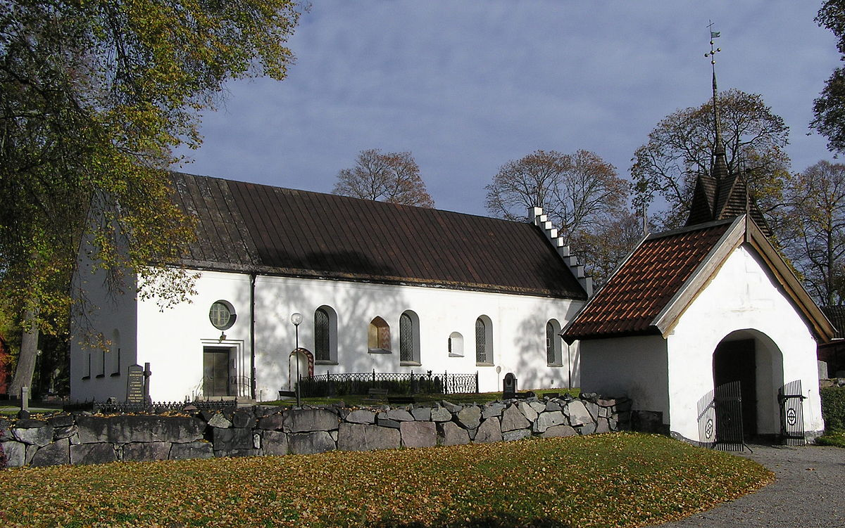 Lilla Malma kyrka.