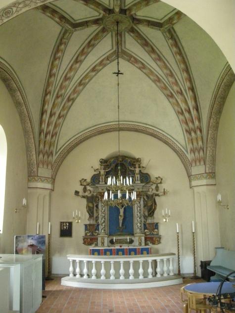 KYRKOKARTAN.SE » Lilla Malma kyrka » Sidokoret med Johan Ullbergs.