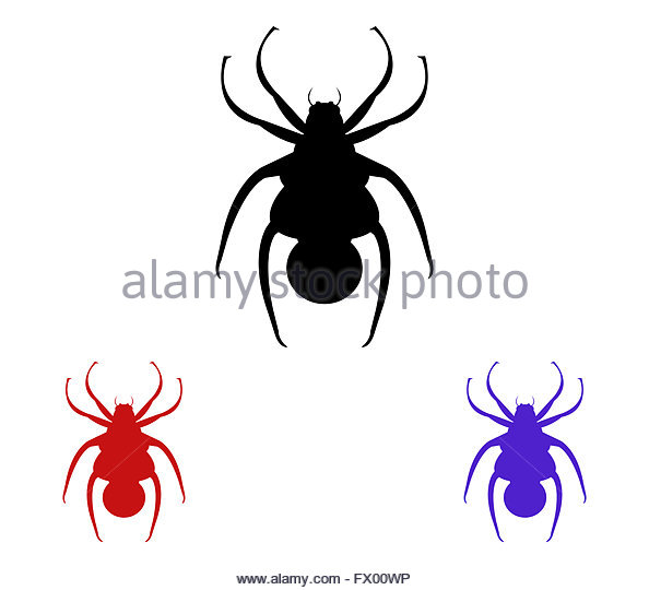 Black Widow And Web Stock Photos & Black Widow And Web Stock.