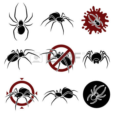 1,224 Black Widow Spider Cliparts, Stock Vector And Royalty Free.