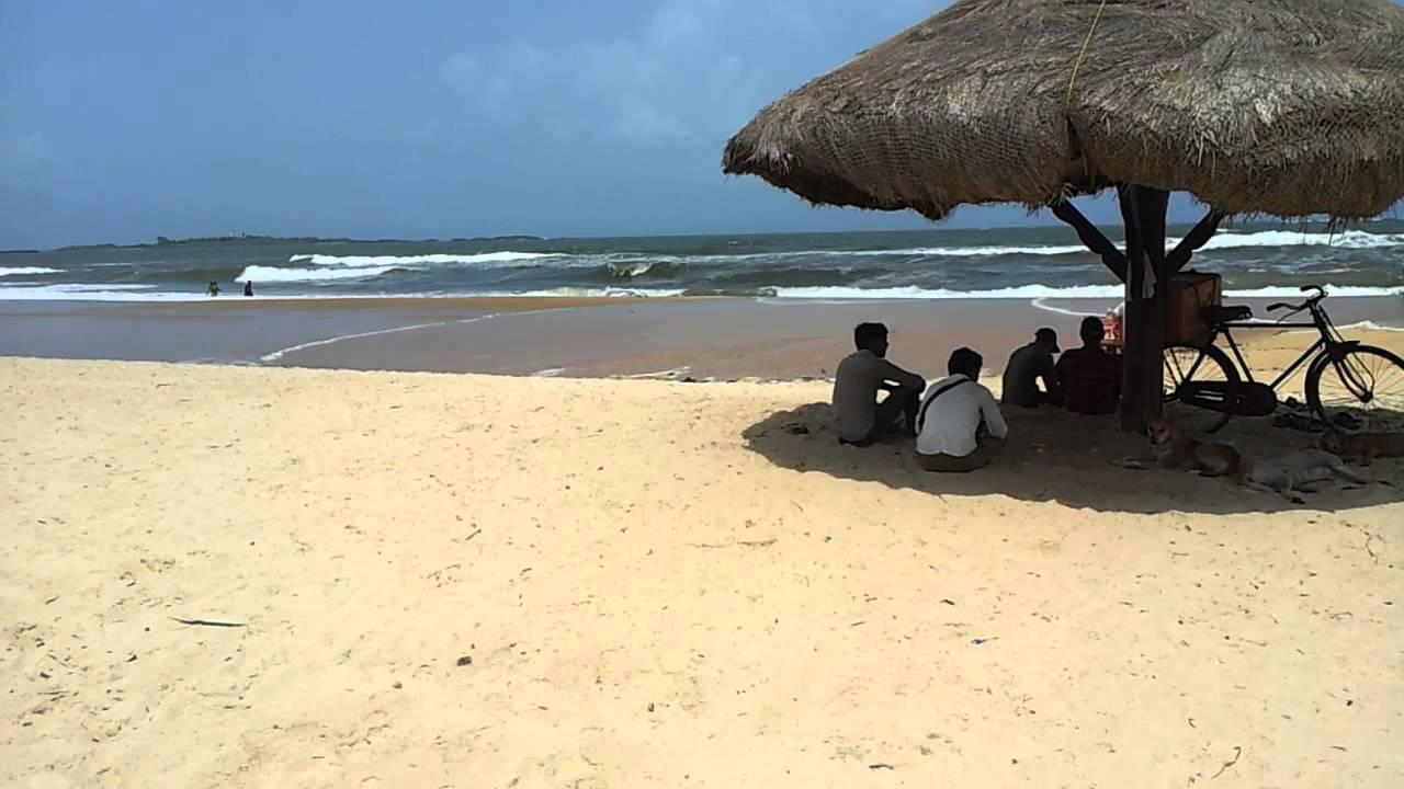 Beautiful Malpe Beach near Udupi, Karnataka.