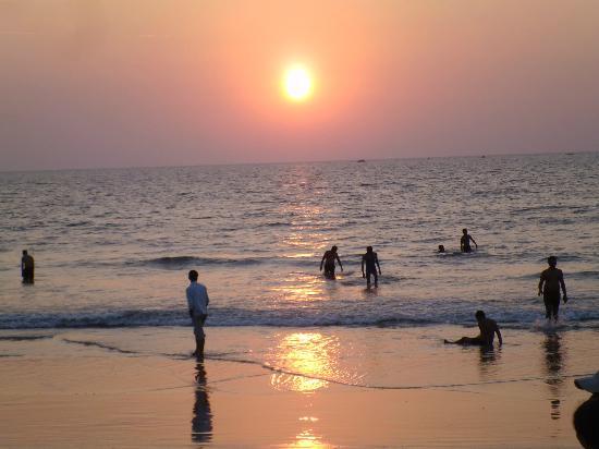 Sunset on Malpe Beach Udupi.