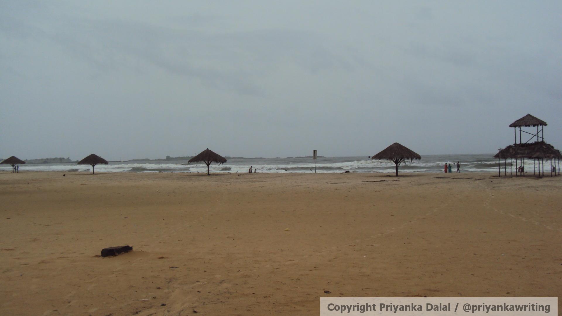 Udupi & the nearby Malpe Beach of Tulu Land, Karnataka.