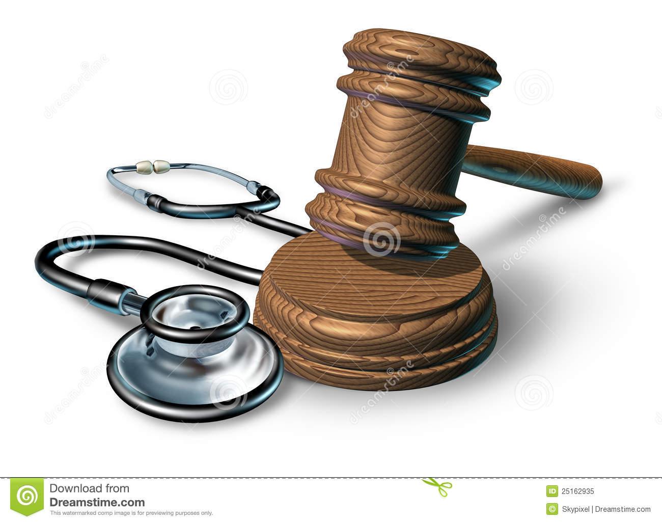 Medical Malpractice Royalty Free Stock Photo.