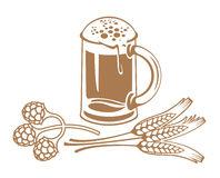 Malt Grain Stock Illustrations.