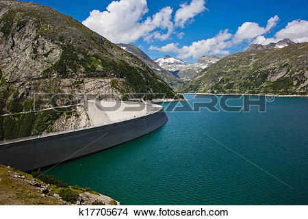 Stock Photo of austria, carinthia, malta reservoir k17705674.