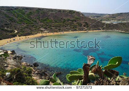 Malta Beach Stock Photos, Royalty.