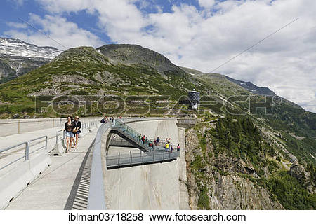 "Pictures of ""Koelnbreinsperre, or Koelnbrein dam, with Airwalk and."