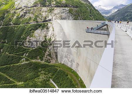 "Picture of ""Malta power plant, Koelnbrein Dam, Maltatal, Hohe."