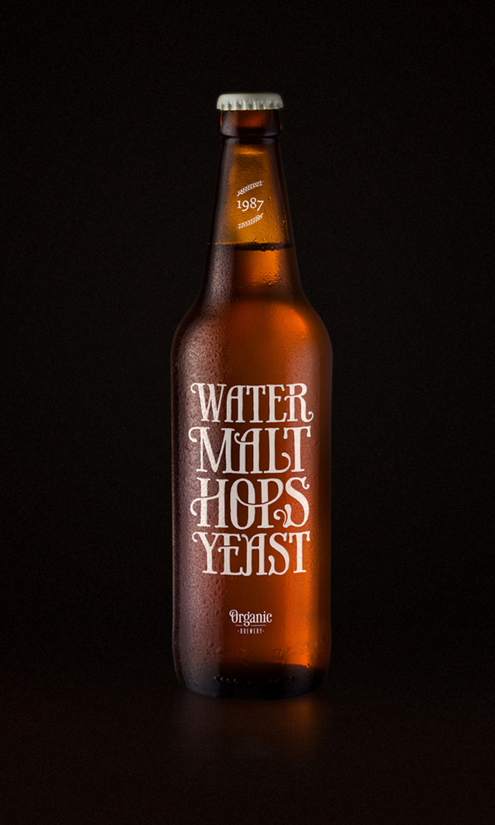Hops water malt yeast clipart.