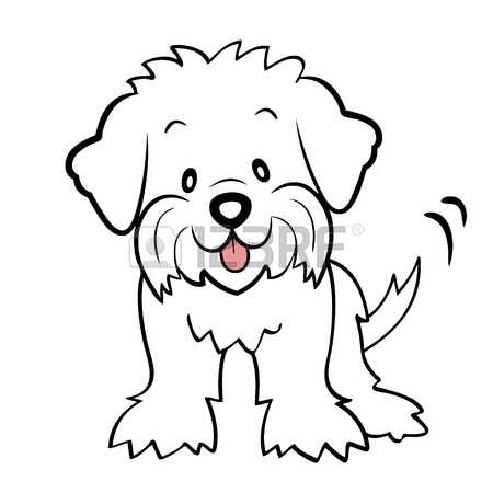 1,183 Maltese Dog Stock Illustrations, Cliparts And Royalty Free.