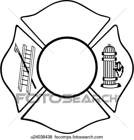 Maltese Cross Clipart.