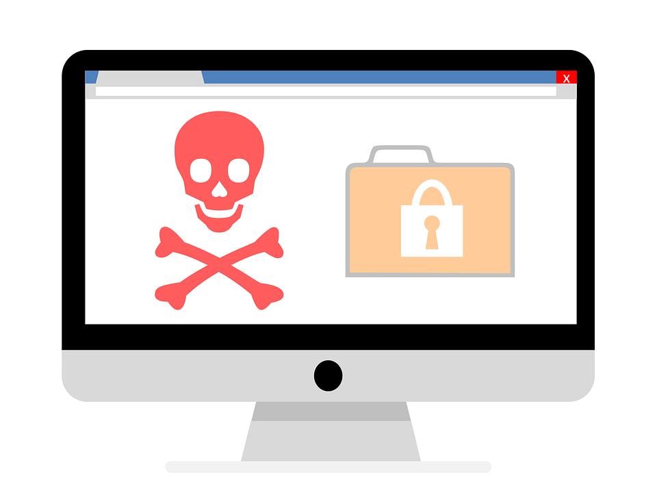 Ransomware Virus Malware.