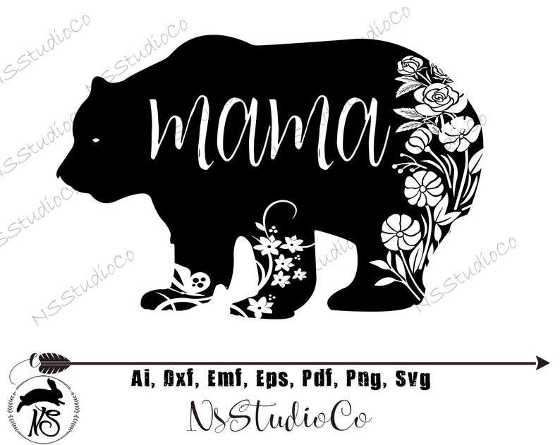 Mama Bear SVG, Mama Bear, Mothers Day SVG, Dxf Files for Cricut, Files For  Silhouette, Mama Bear Clipart, Mama Svg, Mother Svg, Mom Svg Png.