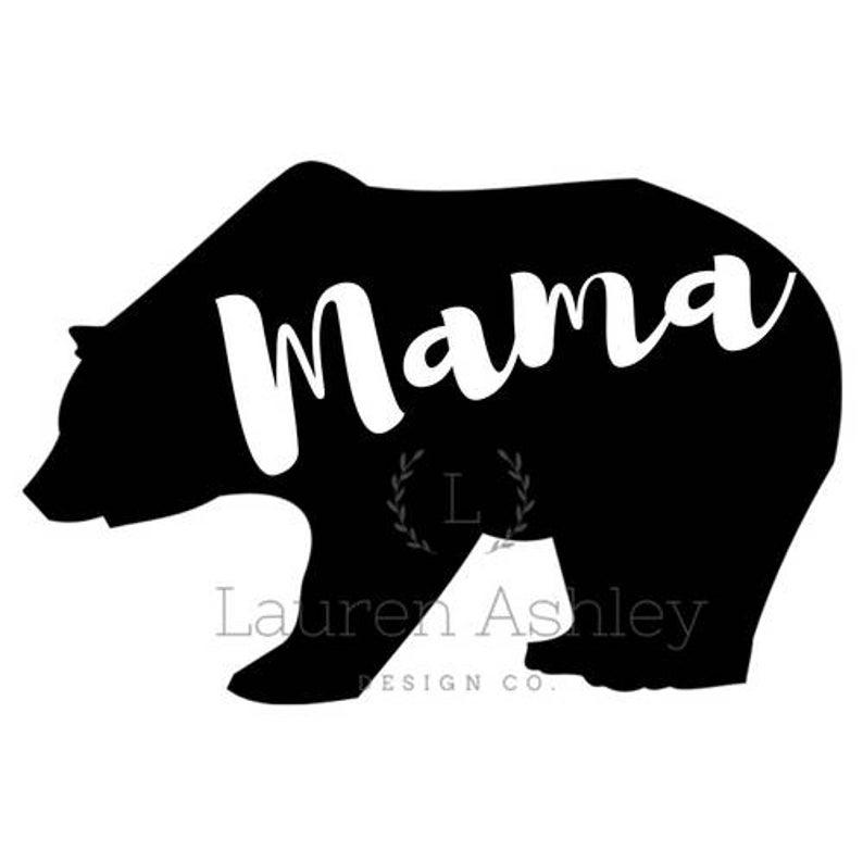 Mama Bear PNG.