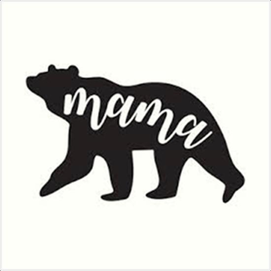 'Mama Bear' Art Print by MaggiepieNY.
