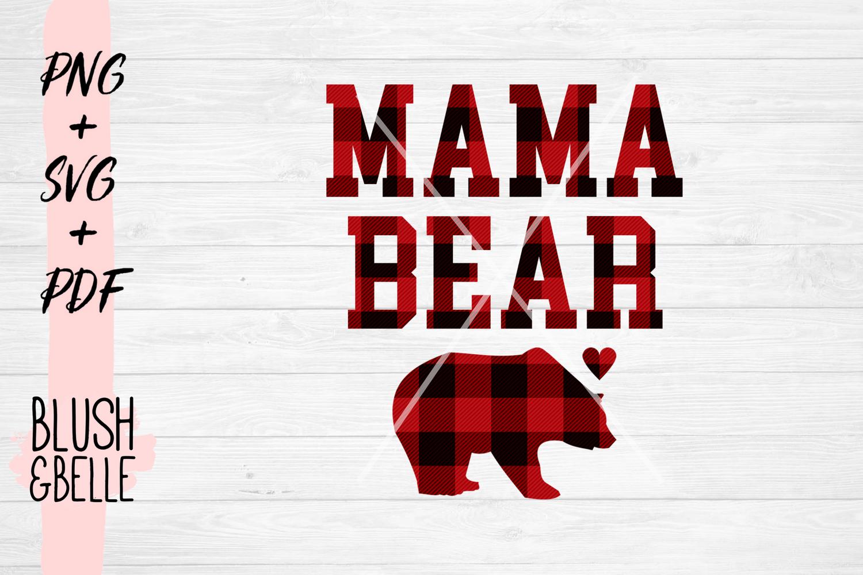Mama Bear PNG, SVG, PDF.