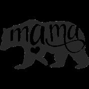 Mama Bear Women's Roll Cuff T.