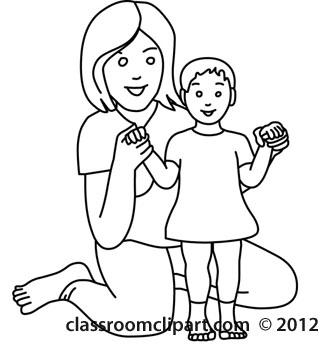 Clip Art Black Mama Clipart.