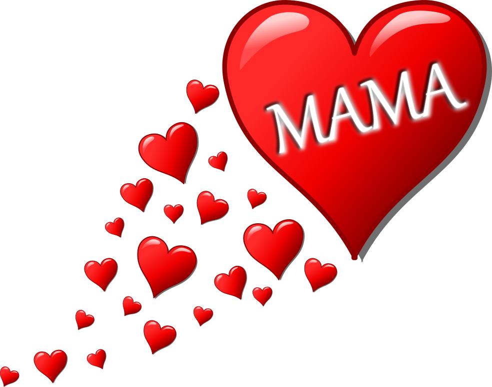 Mama hearts.