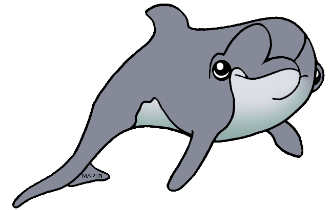 Free United States Clip Art by Phillip Martin, State Water Mammal.