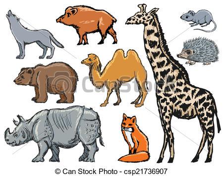 Mammal clip art.