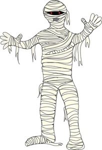 Cartoon Mummy Clipart.