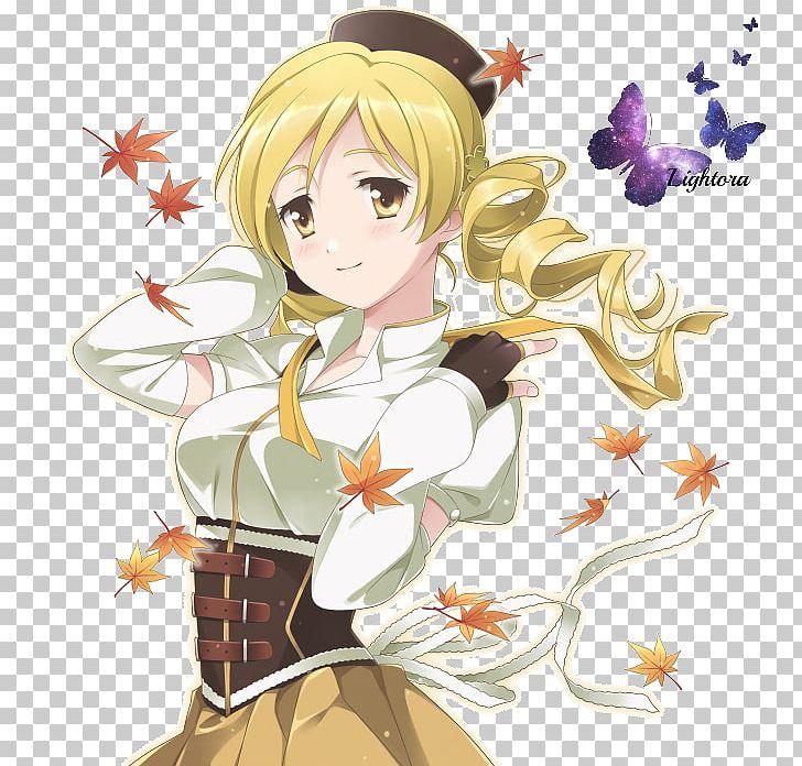 Mami Tomoe Anime Magical Girl Mangaka Waifu PNG, Clipart.