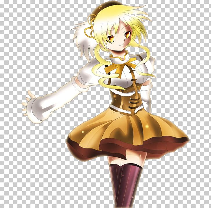 Mami Tomoe Anime Character Fan Art Drawing PNG, Clipart.