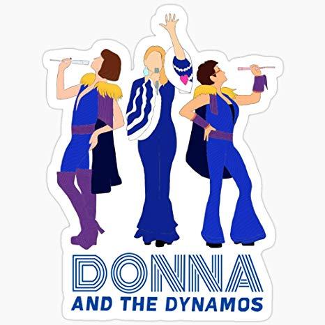 Amazon.com: BeliNZStore Donna and The Dynamos Mamma Mia.