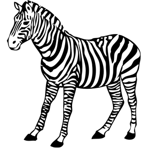 zebra clipart, cliparts of zebra free download (wmf, eps.