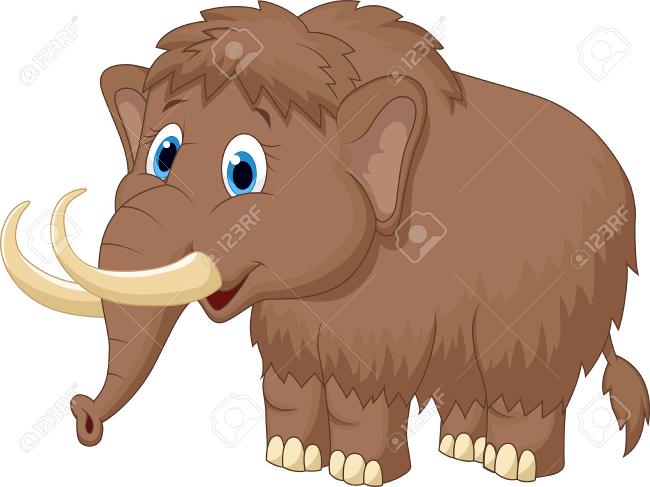 Mammoth clipart free.