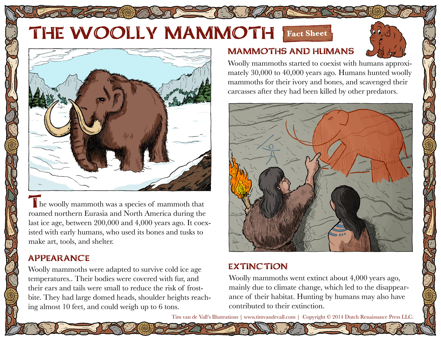 Woolly Mammoth Facts for Kids.