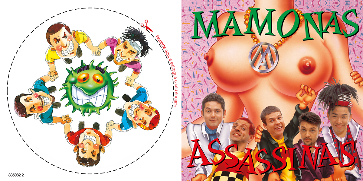 CD Cover Mamonas Assassinas on Behance.