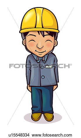 Drawings of Construction man posing u15548334.