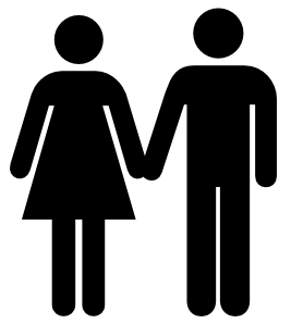 Man And Woman Icon clip art Free Vector / 4Vector.