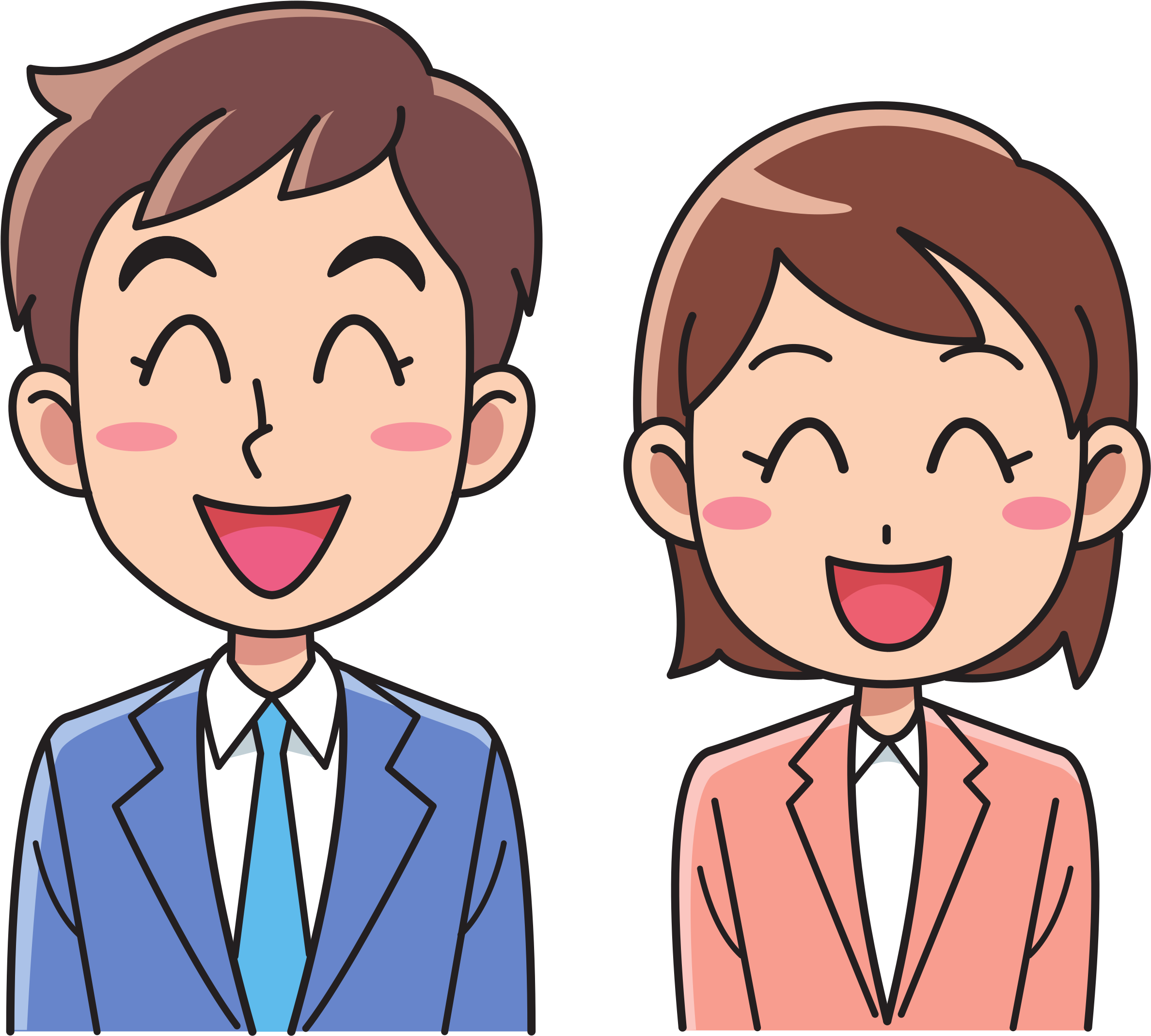 Download Jpg Royalty Free Stock Business Man And Woman Big.