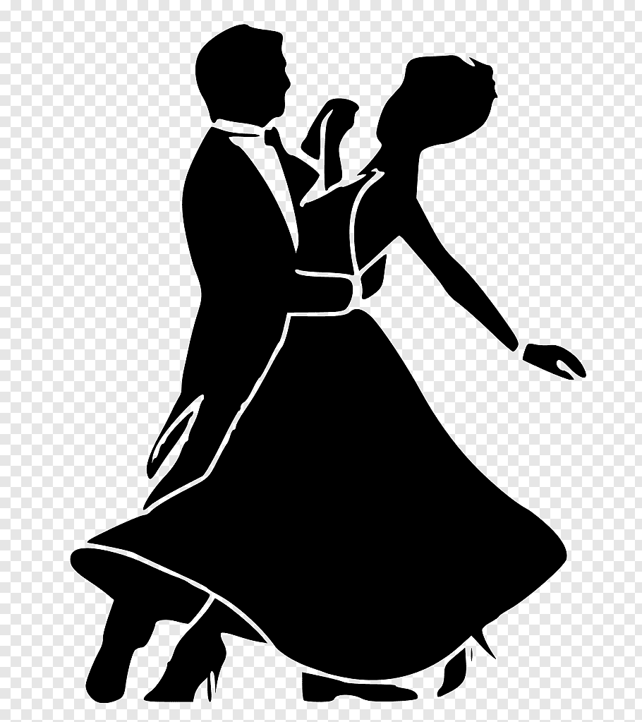 Man and woman dancing, Ballroom dance Social dance Waltz.