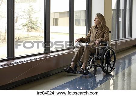 Stock Photo of Wheelchair.