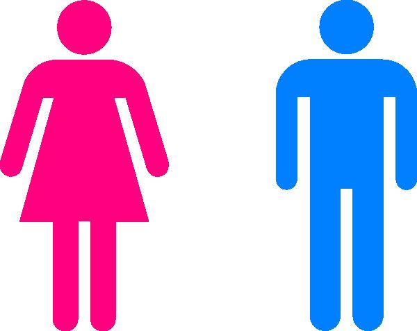 Man And Woman Symbols Clip Art at Clker.com.